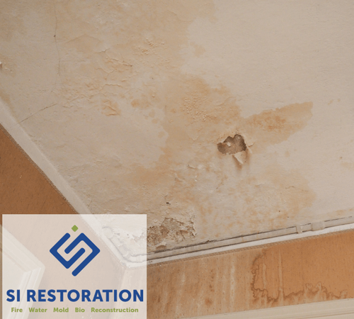Common Causes Of Water Stains On Ceilings Si Restoration